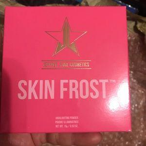 Jeffree Star skin frost so fu**ink gold
